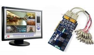 DVR платка за видеонаблюдение