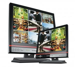 монитор за видеонаблюдение