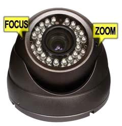Камера с вграден варифокален обектив