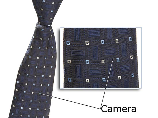 Шпионската камера записва на вградена флаш памет и работи на батерии