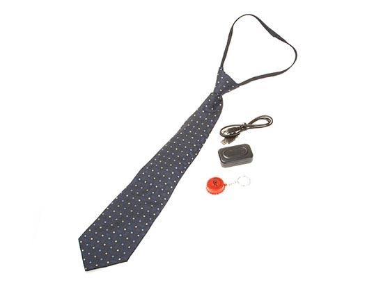 Комплект скрита камера - вратовръзка - Мини видеорекордер